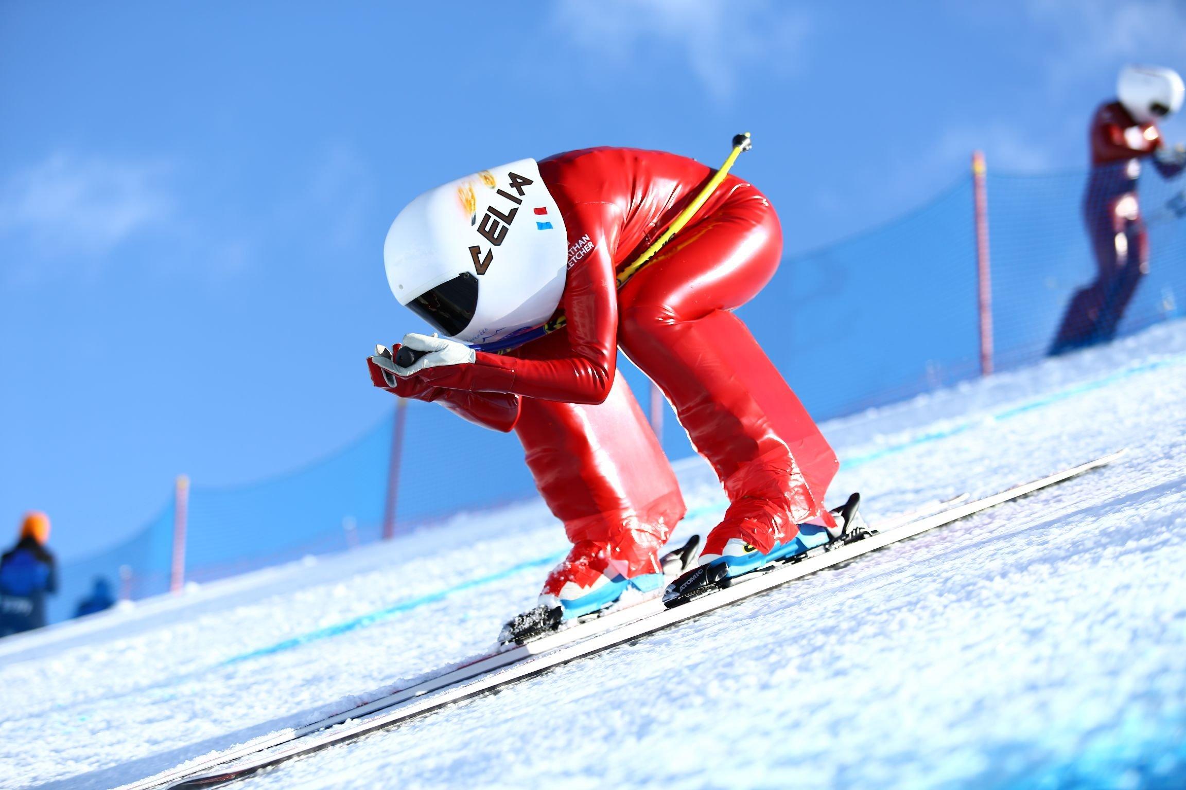 Speed Skiing 2015 01